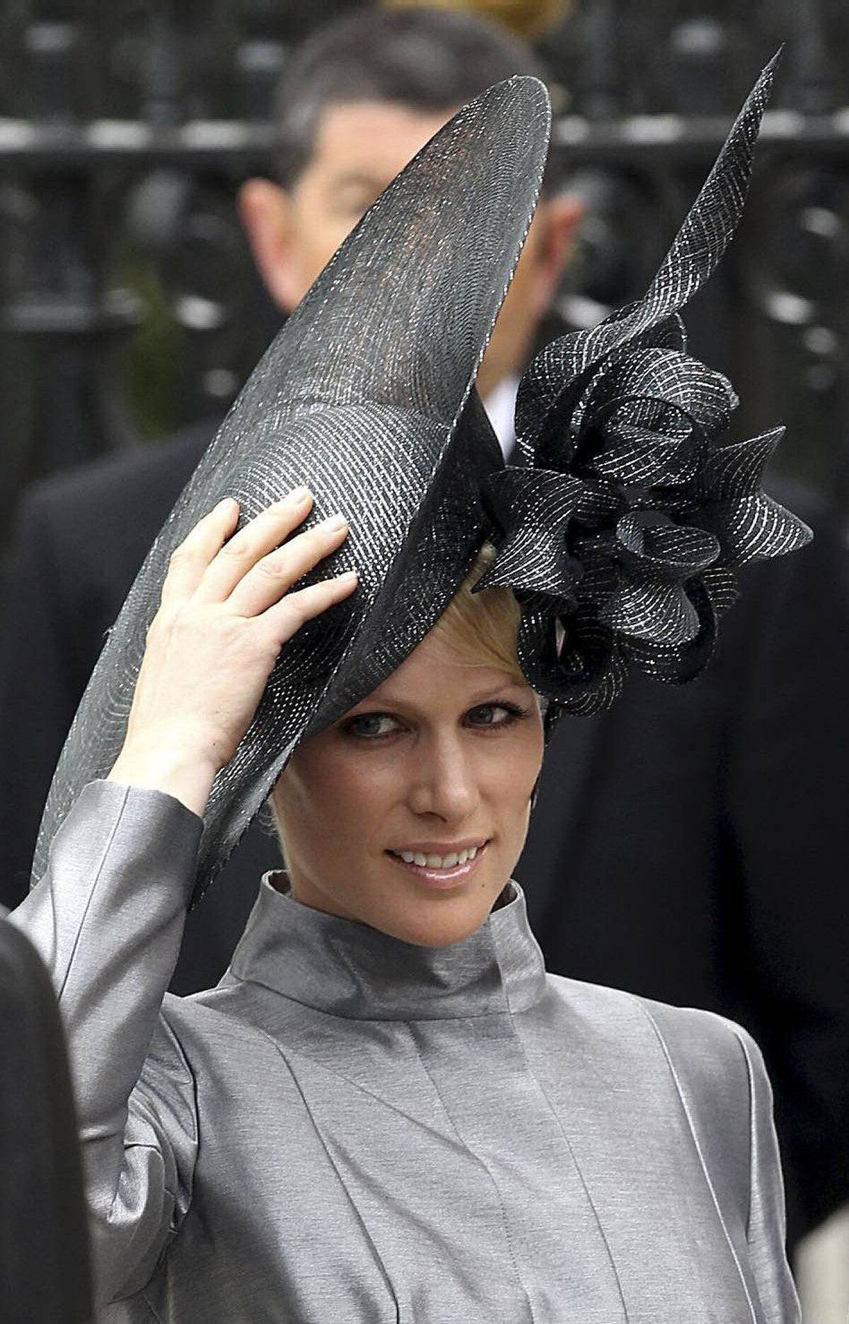 Zara Phillips arrives to attend the Royal Wedding of Prince William to Catherine Middleton at Westminster Abbey on April 29, 2011 in London, England.