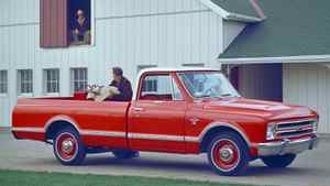 1967 Chevy C-10 Long Bed Pickup.
