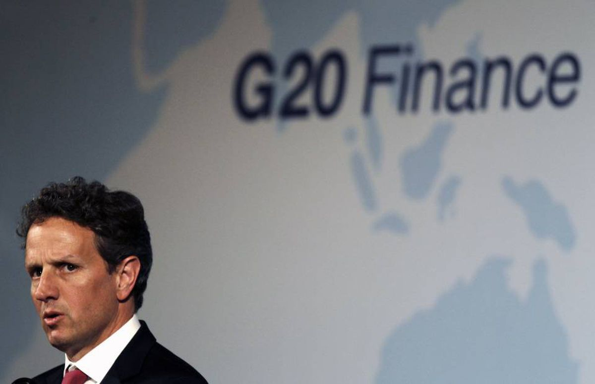 U.S. Treasury Secretary Tim Geithner expressed support for reforms that were discussed at the G20 meeting in Busan, South Korea over the weekend.
