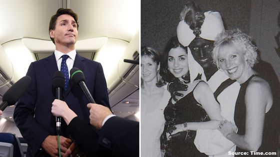 Video: Trudeau apologizes for brownface photo from 2001