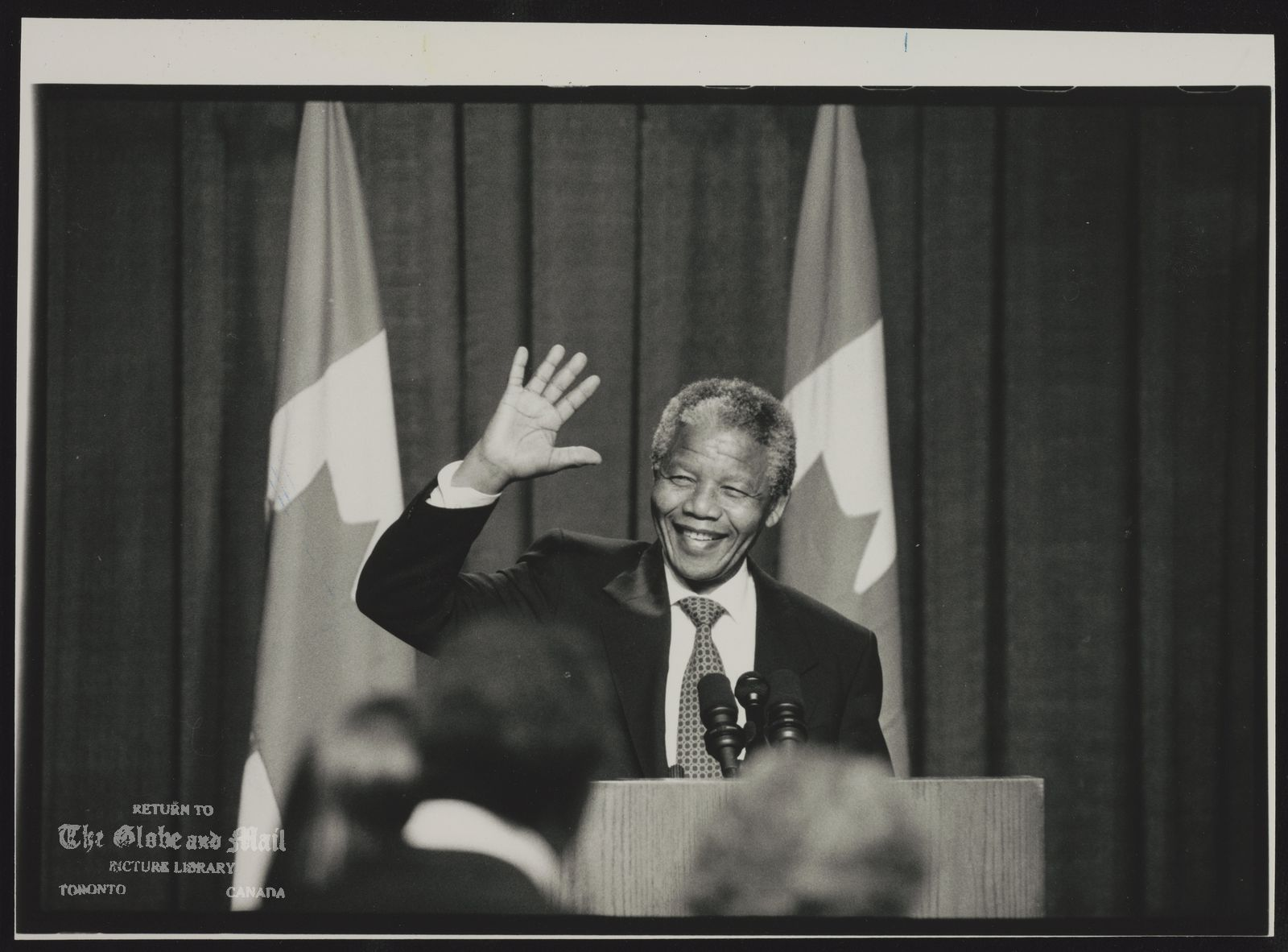 NELSON MANDELA SOUTH AFRICA. POLITICIAN. CANADA HAS LONG SUPPORTED BLACK HOPES IN SOUTH AFRICA. WITH FREE ELECTION APPROACHING, CANADIAN ADVISERS HAVE BEEN ABLE TO PUT THEIR SENTIMENTS INTO PRACTICE.
