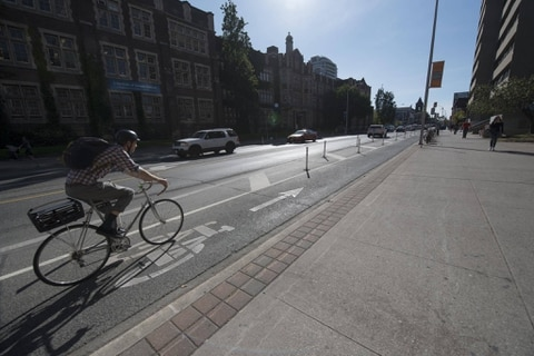 Millions on Bicycle lanes in Ontario