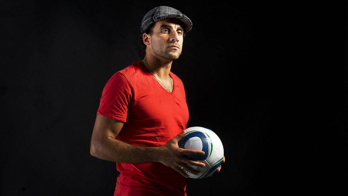 DC United soccer player Dwayne de Rosario, who has been nominated for league MVP, is photographed in Toronto, Ont. Nov. 14/2011.