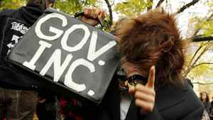 Thousands of people took part in a peaceful protest as part of Occupy Toronto on Oct. 15, 2011.