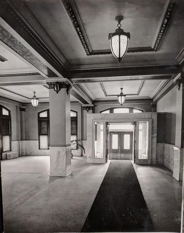 Westinghouse HQ building original main lobby