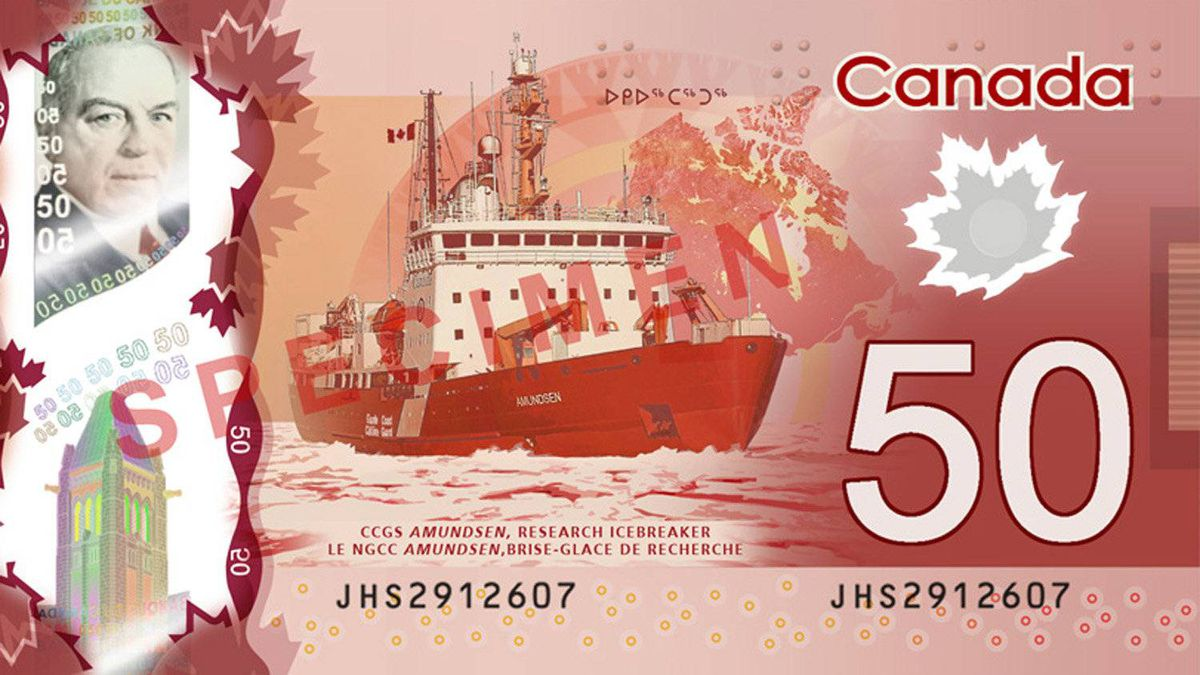 Most of Canada's current icebreakers – including the plucky little Amundsen – won't last as long as our new $50 bills.