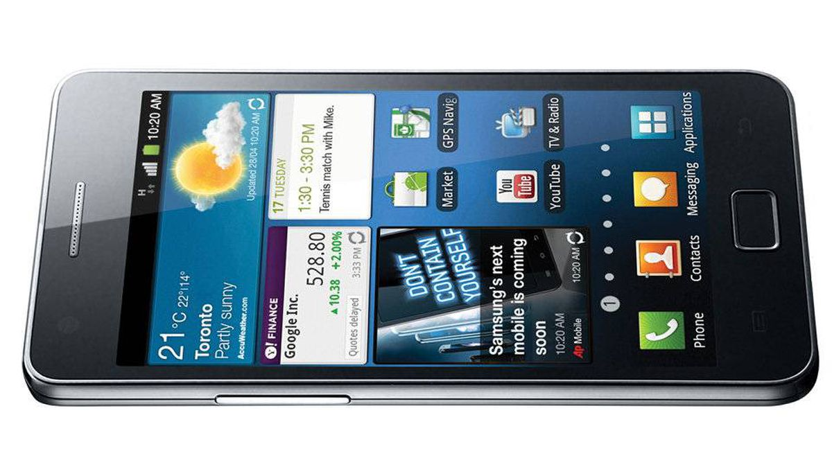 Samsung Galaxy S II: for the chic geek This Android handset is wafer-thin, feather-light and sports a gigantic 4.3-inch screen. Its 1.2 GHz dual-core processor makes mincemeat out of apps, and an 8-megapixel camera captures great photos and HD video. Starting at $169 with a three-year contract through Bell; samsung.ca