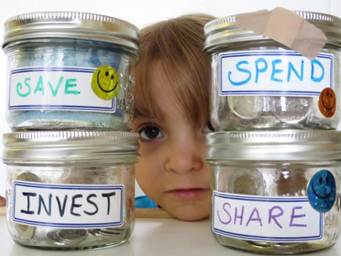 Teaching kids about money is child's play