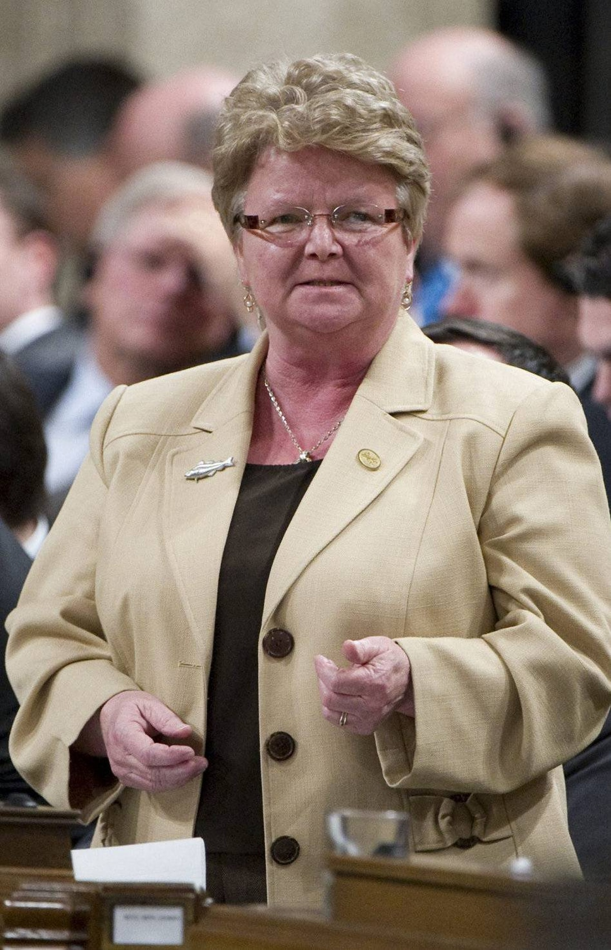 GAIL SHEA To Revenue from Fisheries. The PEI MP was first elected in 2008 and is a former provincial cabinet minister.