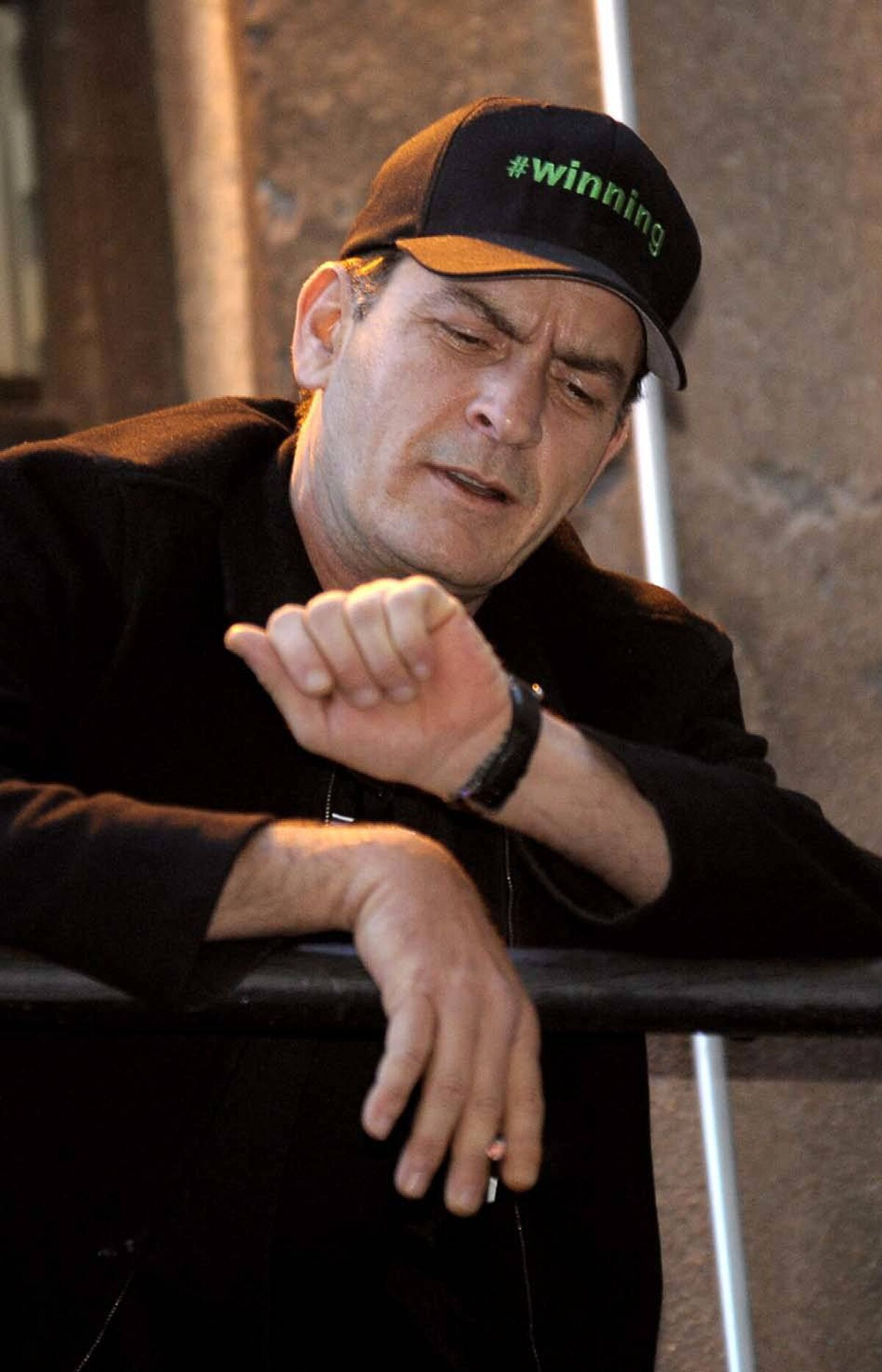 """FUNNY, EVERY TIME I LOOK AT MY WATCH IT SAYS IT'S 15 MINUTES PAST THE HOUR Charlie Sheen went crazy, got fired from the most lucrative sitcom job in America, toured his mental illness across North American for the enjoyment of cruel strangers, and called the whole mess """"winning."""" Prediction: In 2012 he will be hired to do PR for the Toronto Maple Leafs."""