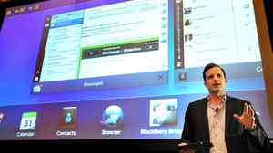 """By giving the devices out to app developers at its upcoming BlackBerry 10 Jam in Orlando, Florida, in early May, the company is hoping to """"create excitement"""" in the developer community, said Alex Kinsella (not pictured), RIM's senior PR and social-media manager."""