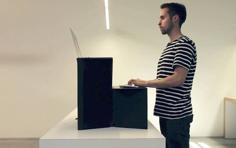 'We're disrupting IKEA': Canadian entrepreneur launches $25 stand-up desk