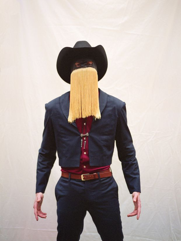 Alt-country singer Orville Peck is challenging the genre's traditional masculinity