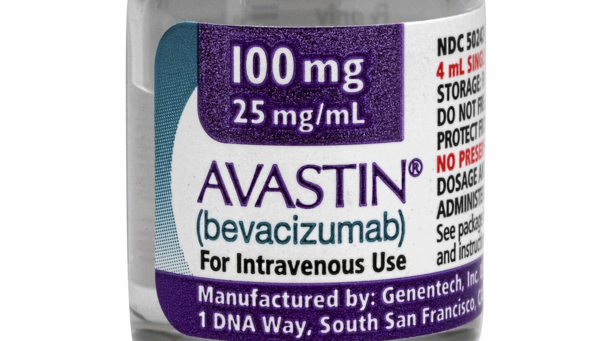 This undated photo provided Jan. 31, 2011, by California-based Genentech Inc., shows the blockbuster cancer drug Avastin.