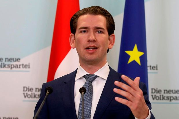 New Austrian Government to Fight Illegal Migration, Climate Change - Kurz