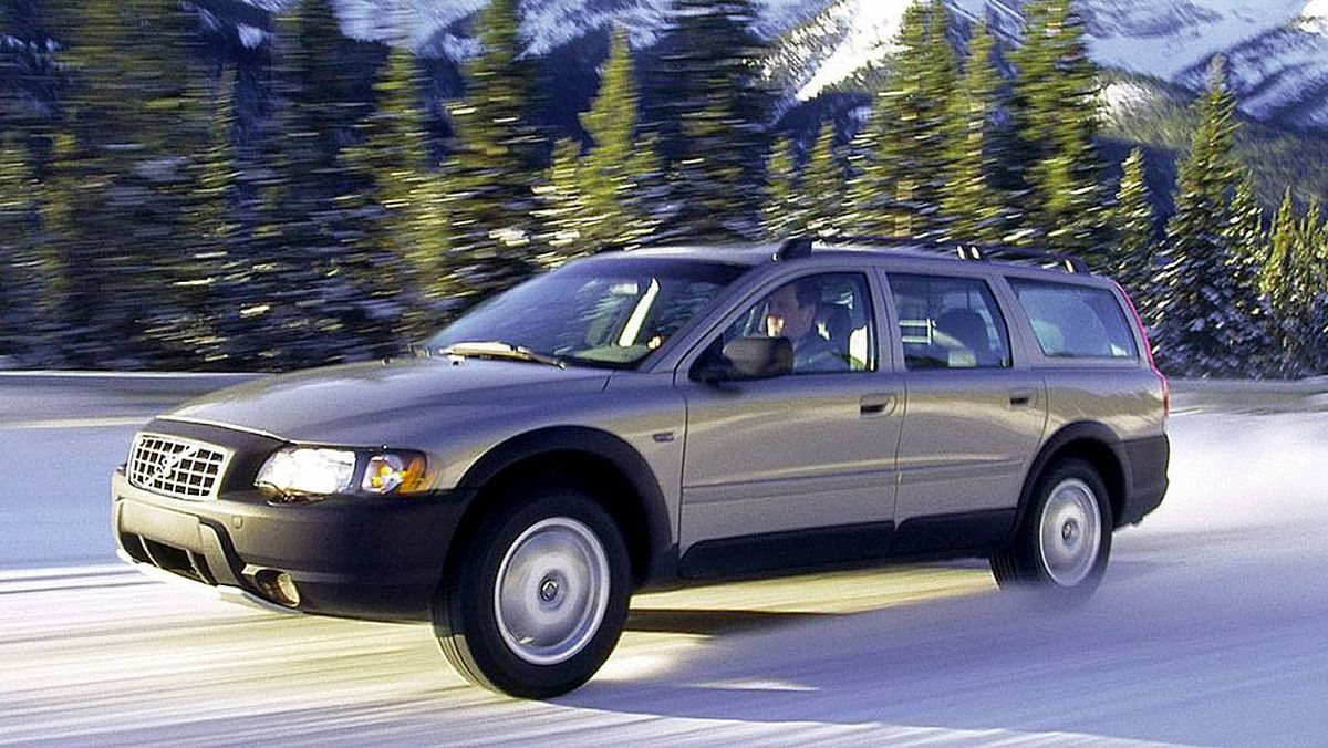 The XC 70 was built on the same platform as the S80 sedan.