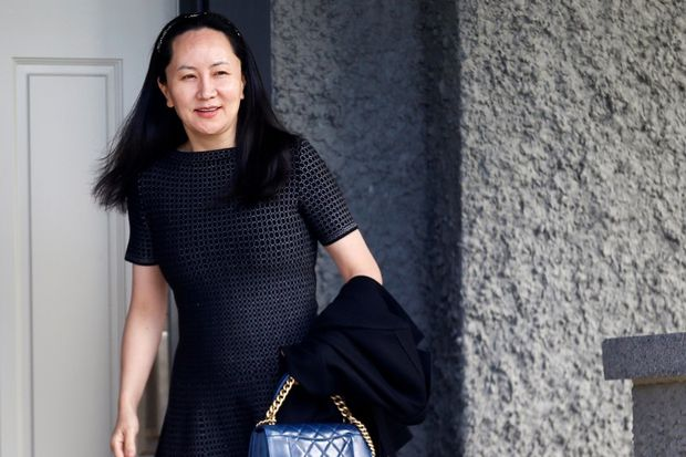Canada accused of unlawfully questioning Huawei's Meng