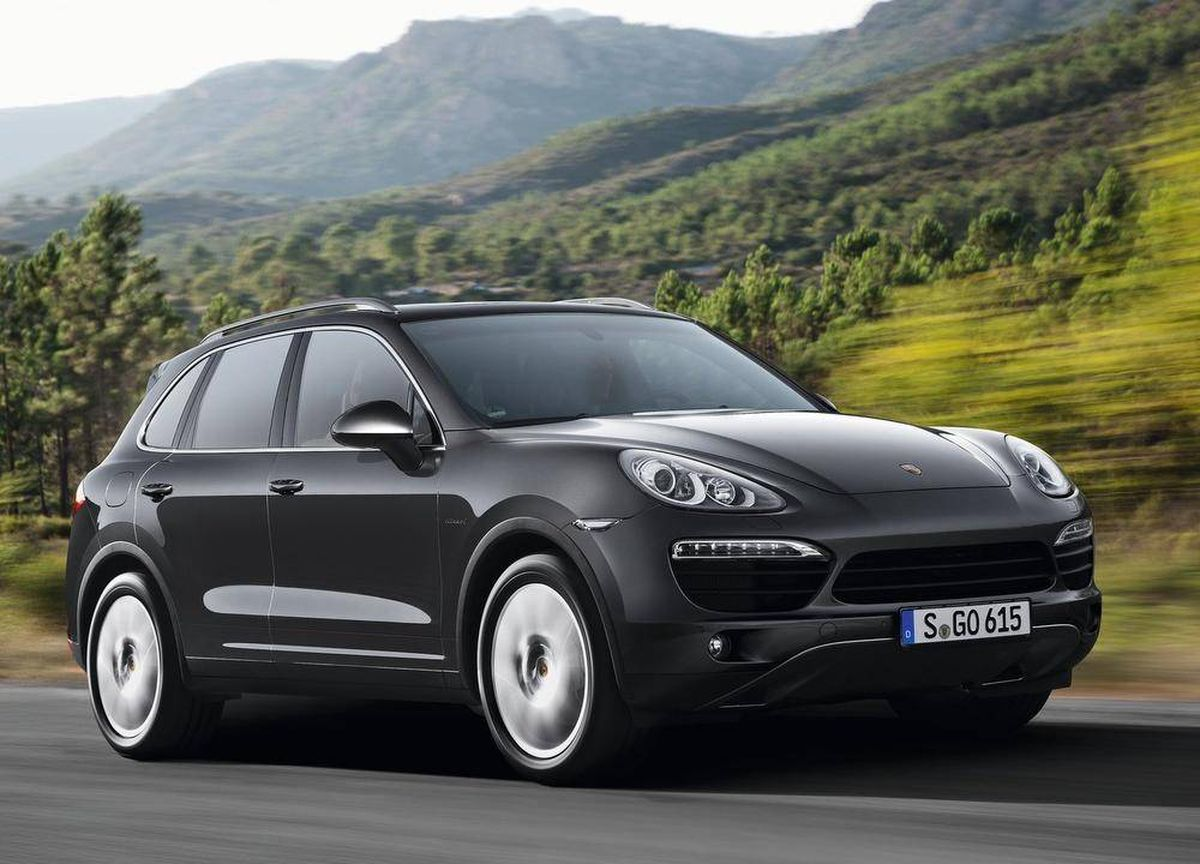 Diesel Cayenne the only sensible Porsche SUV - The Globe and