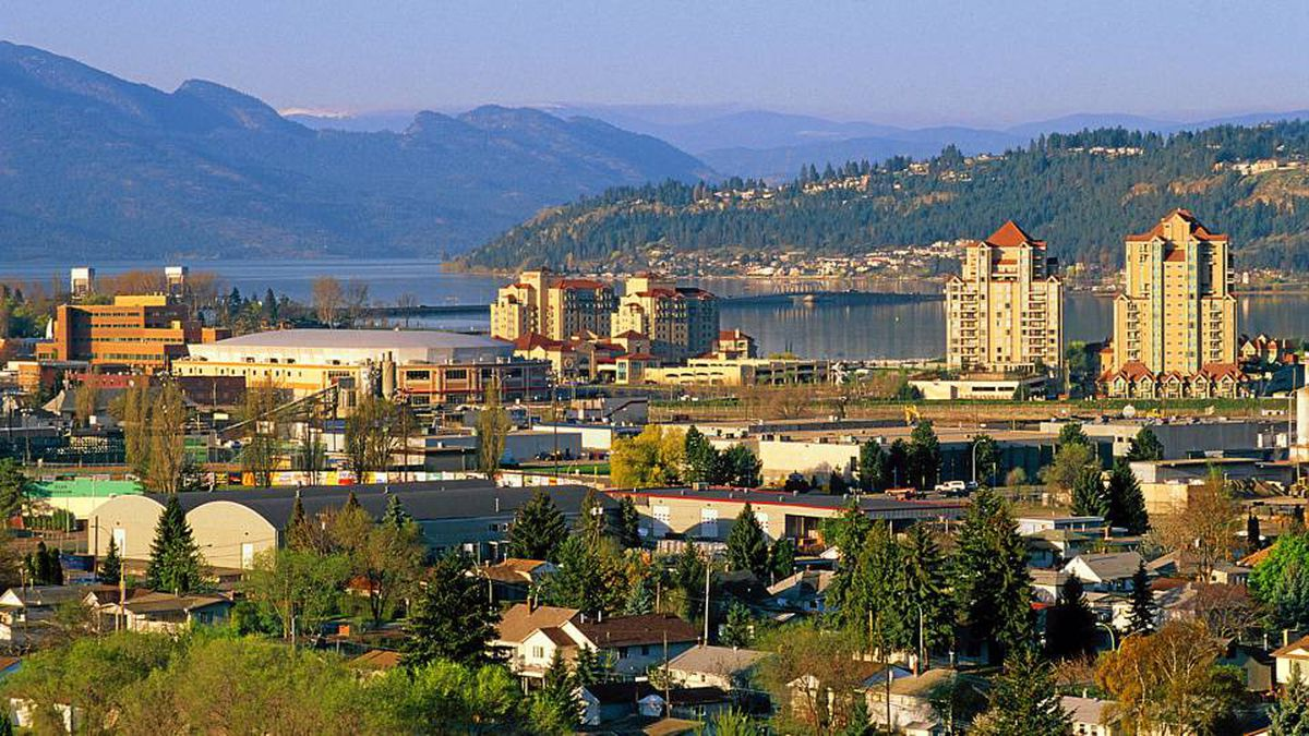 For its size, Kelowna, B.C., boasts a large media market.