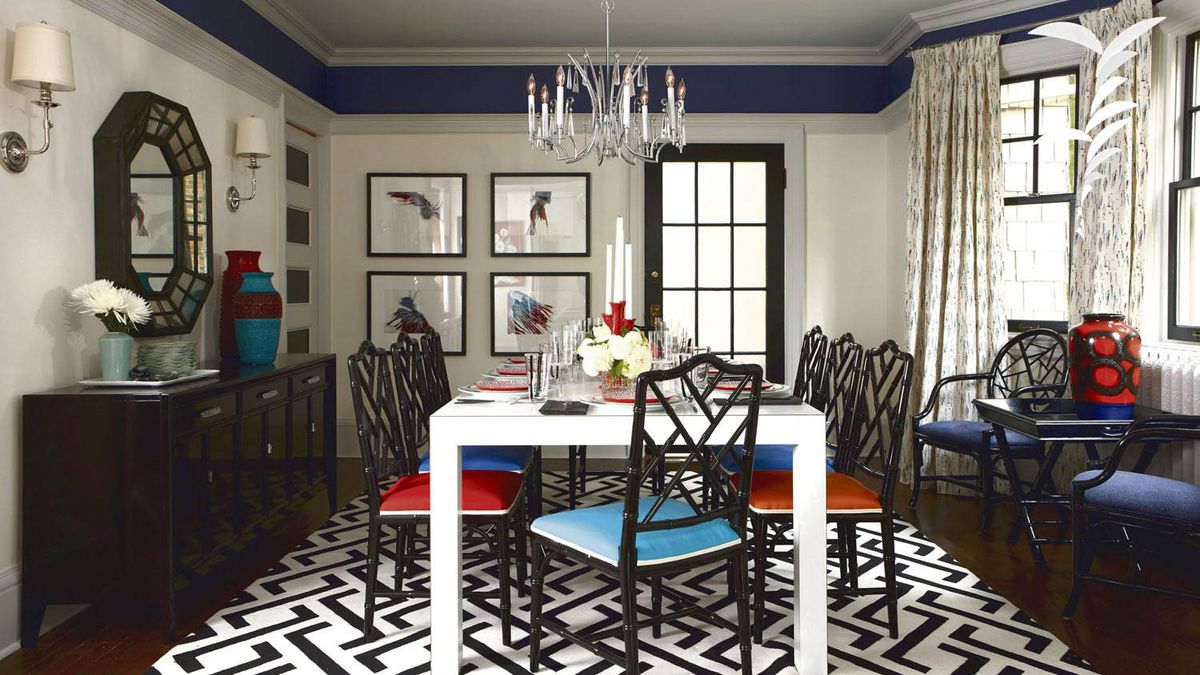 Get Your Funk On When Decorating Your Dining Room The