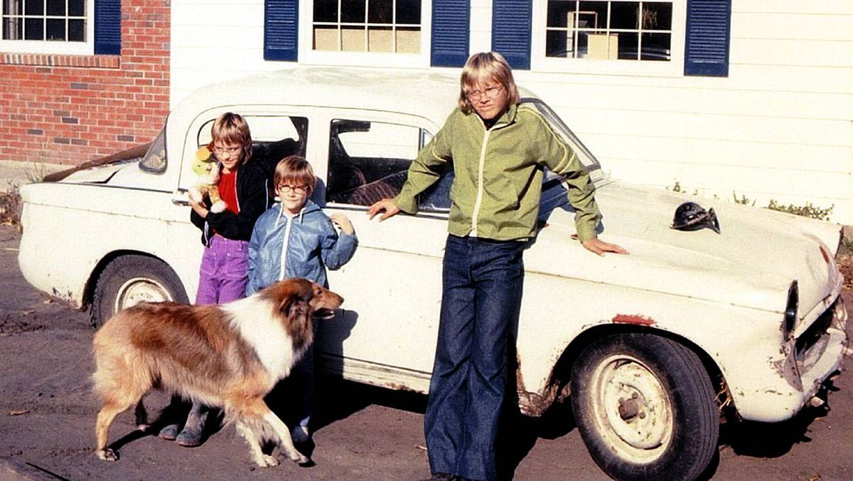 Hillman Minx: I bought this field car for $35 when I was 12 and living on a small farm. Had a riot blasting around the fields with it, scaring my sisters or cousins. Ah youth! Such a great project for any boy.