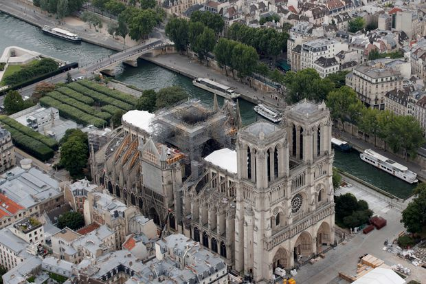 Heat wave poses new threat to Notre Dame Cathedral