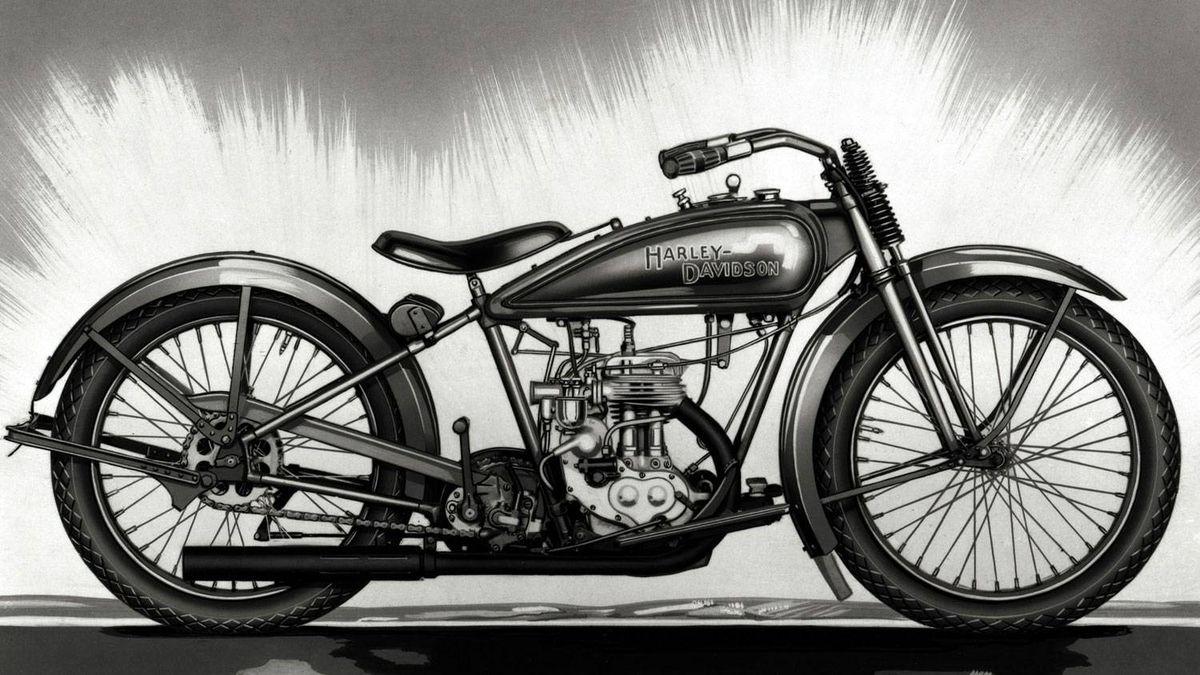 1926 Harley-Davidson side valve single cylinder