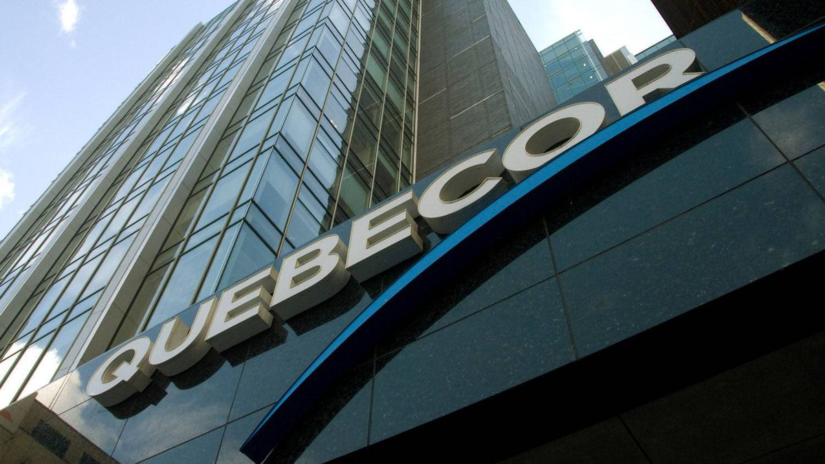 Quebecor headquarters in Montreal, Friday, July 30, 2010.
