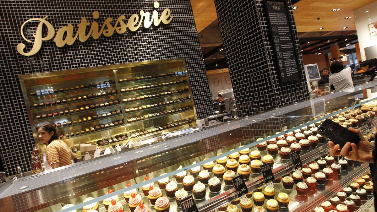 Cupcakes, anyone? The patisserie at the new Loblaws store inside Maple Leaf Gardens features 19 different varieties.