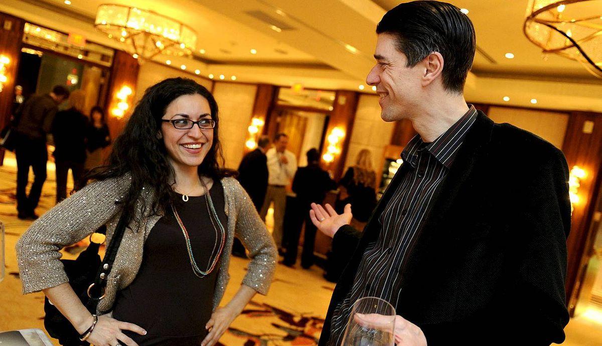 Tanya Filippelli and Greg Rubidge Toronto Jewish Film Festival VIP Gala Night