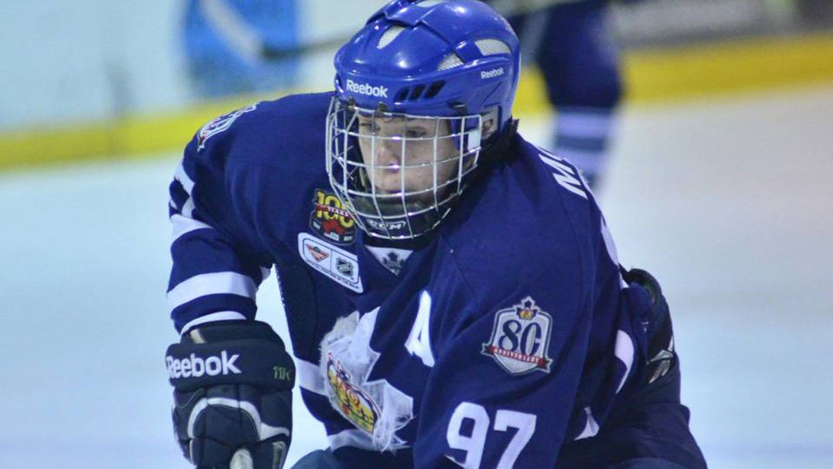 Teen hockey phenom Connor McDavid is shown in a recent handout photo. McDavid is set to enter the Ontario Hockey League at age 15 after being granted exceptional player status by Hockey Canada.