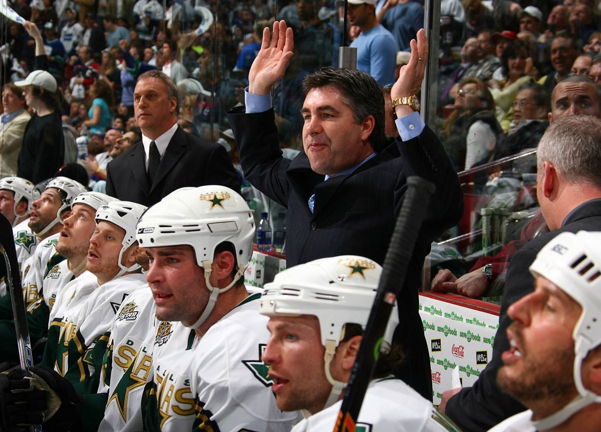 Dave Tippett coached the Dallas Stars for six seasons.