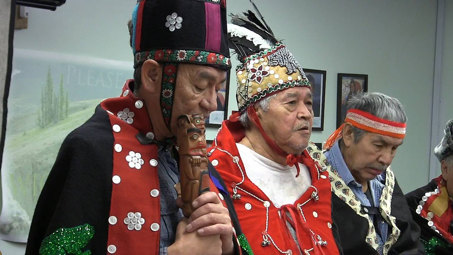 Image result for Wet'suwet'en hereditary chiefs held a press conference
