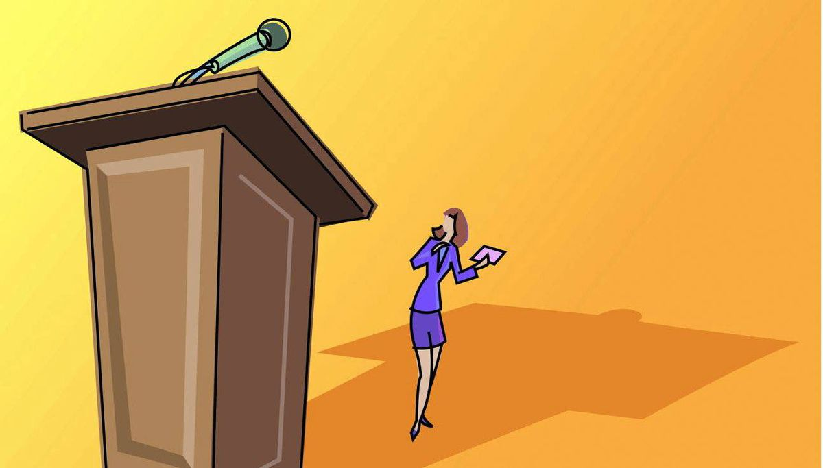 Why women need to step up to the microphone