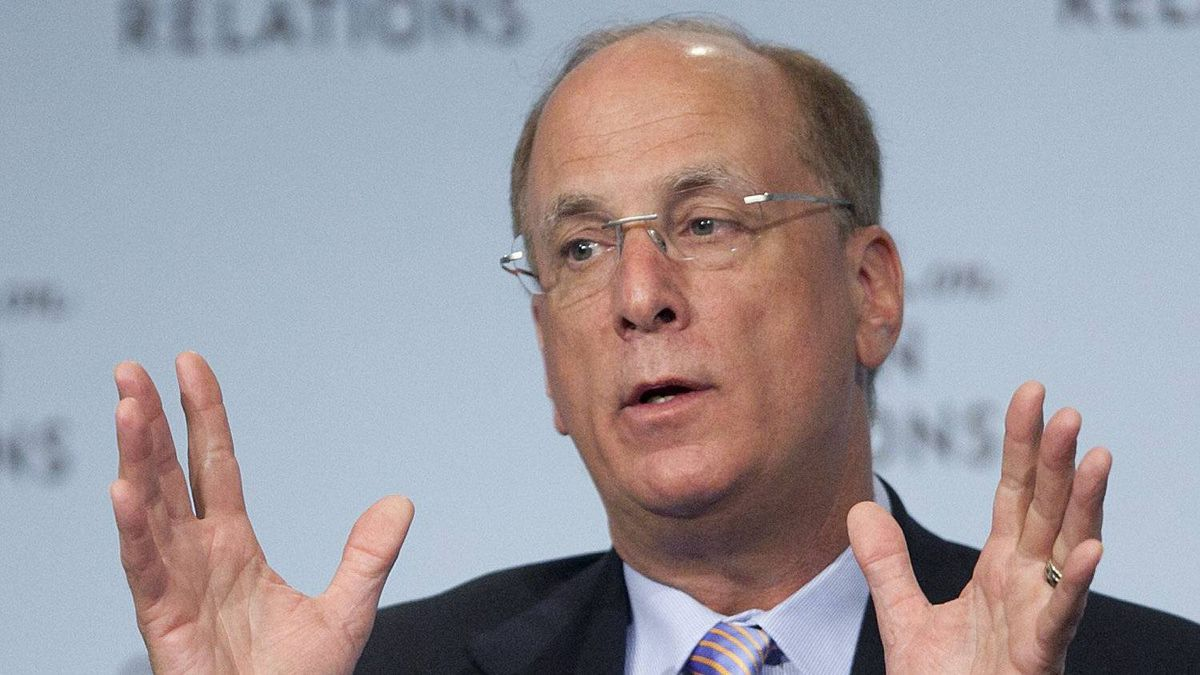 BlackRock Inc. CEO Laurence Fink. BlackRock, the world's largest money manager by assets, has applied to the U.S. Securities and Exchange Commission to compete as a broker dealer against big Wall Street banks.