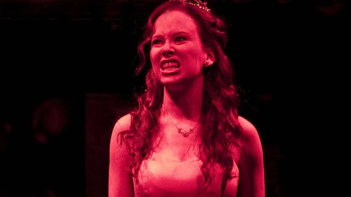 """Molly Ranson in a scene from MCC Theater's """"Carrie"""""""