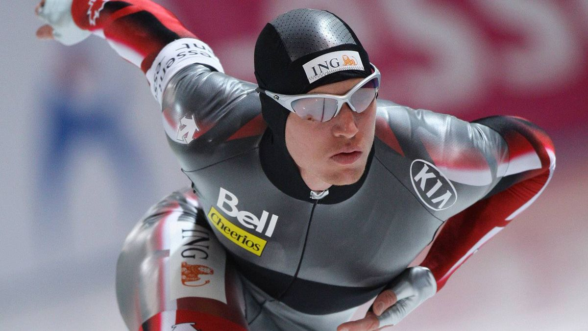 Jeremy Wotherspoon of Canada competing during the 2008-09 season.