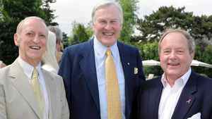 Don Johnson, Michael Wilson and Andy Pringle at the Walrus Foundation Garden party.
