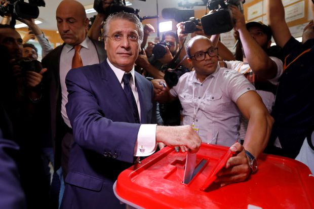 Tunisians vote for president in test of young democracy