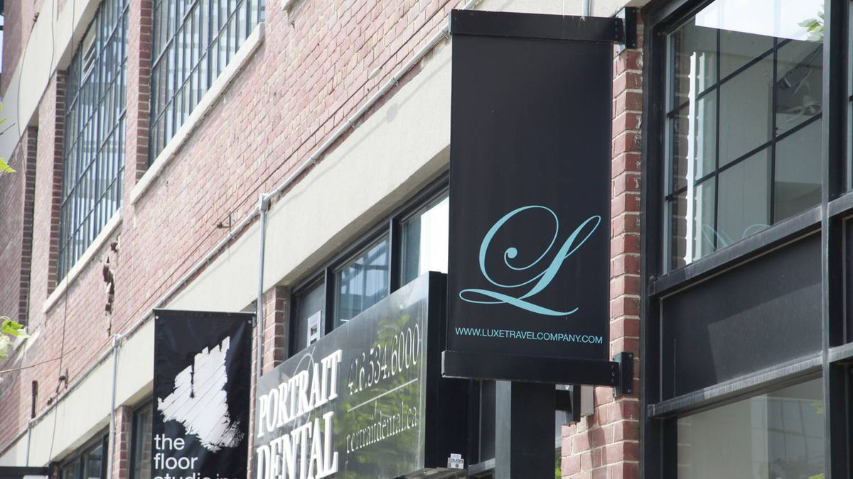 LUXE located in Toronto's Liberty Village neighbourhood