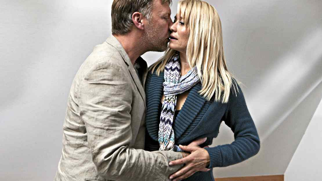 Anton (Mikael Persbrandt) and Marianne (Trine Dyrholm) in a scene from In a Better World.