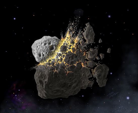 Distant asteroid calamity shaped life on Earth 466 million years ago, scientists say