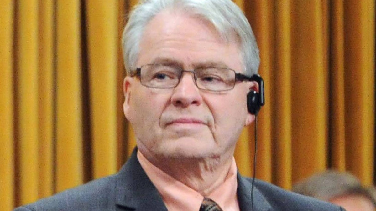 NDP MP Bruce Hyer votes for a government bill to scrap the long-gun registry in the House of Commons on Feb. 15, 2012.