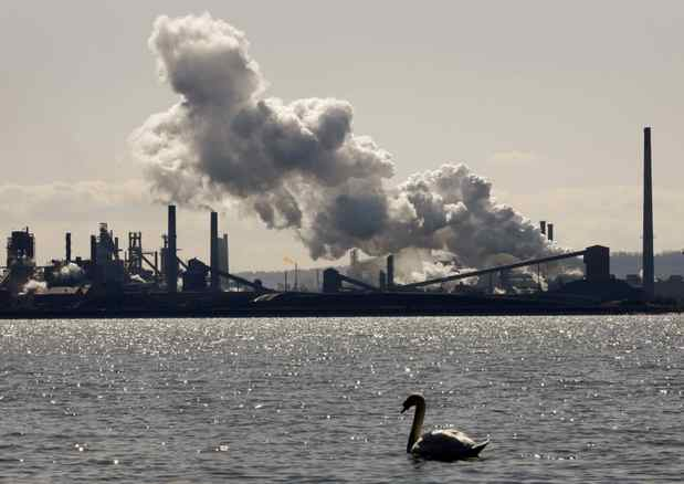 The U.S. Steel Canada plant, formerly Stelco, in Hamilton. If Lakeside is taken over, it will will continue a years-long trend that has seen virtually all major Canadian steel companies swept up.