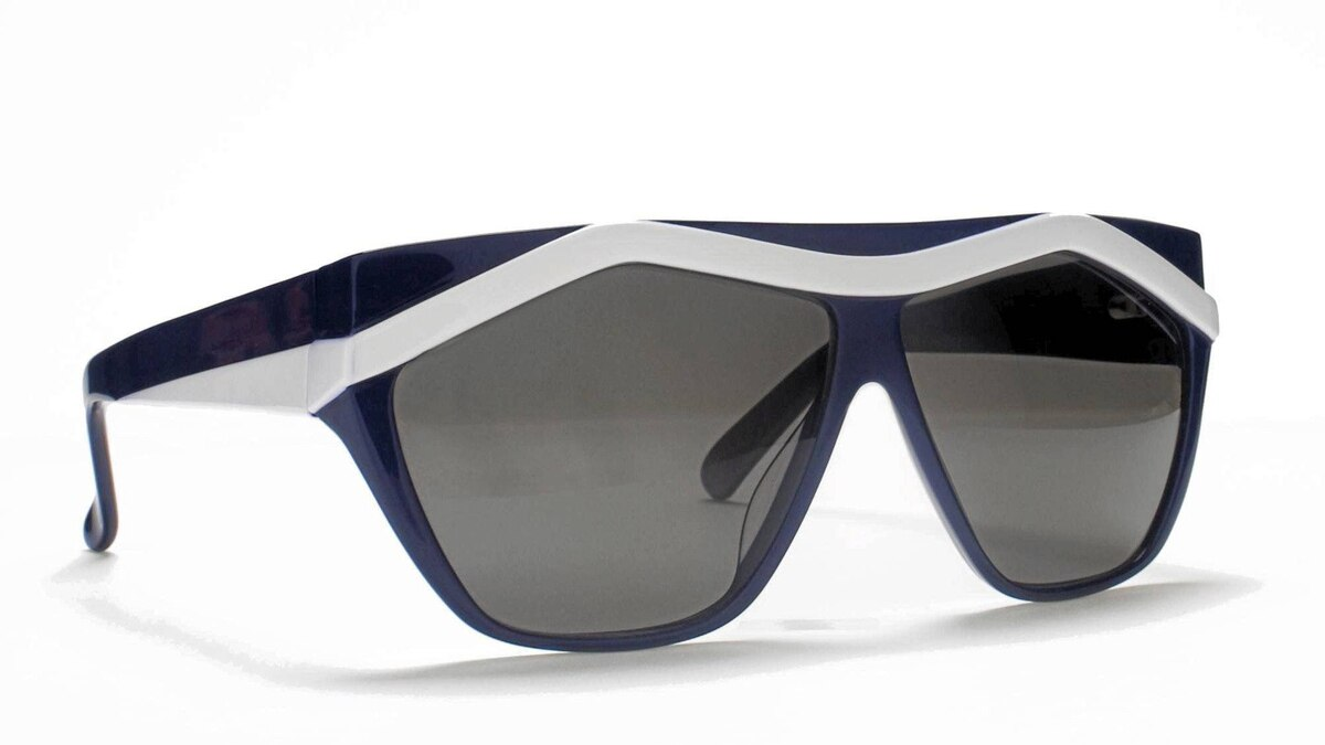 '80s-inspired shades: Stay stylishly incognito in Sky Bar sunglasses by Paris-born, New York-based designer Jeremy Tarian. With their angular, 1980s inspired design and without any flashy brand markings in sight, these unisex shades are light and perfect for city sightseeing and sly people-watching sessions. $370; jeremytarian.com