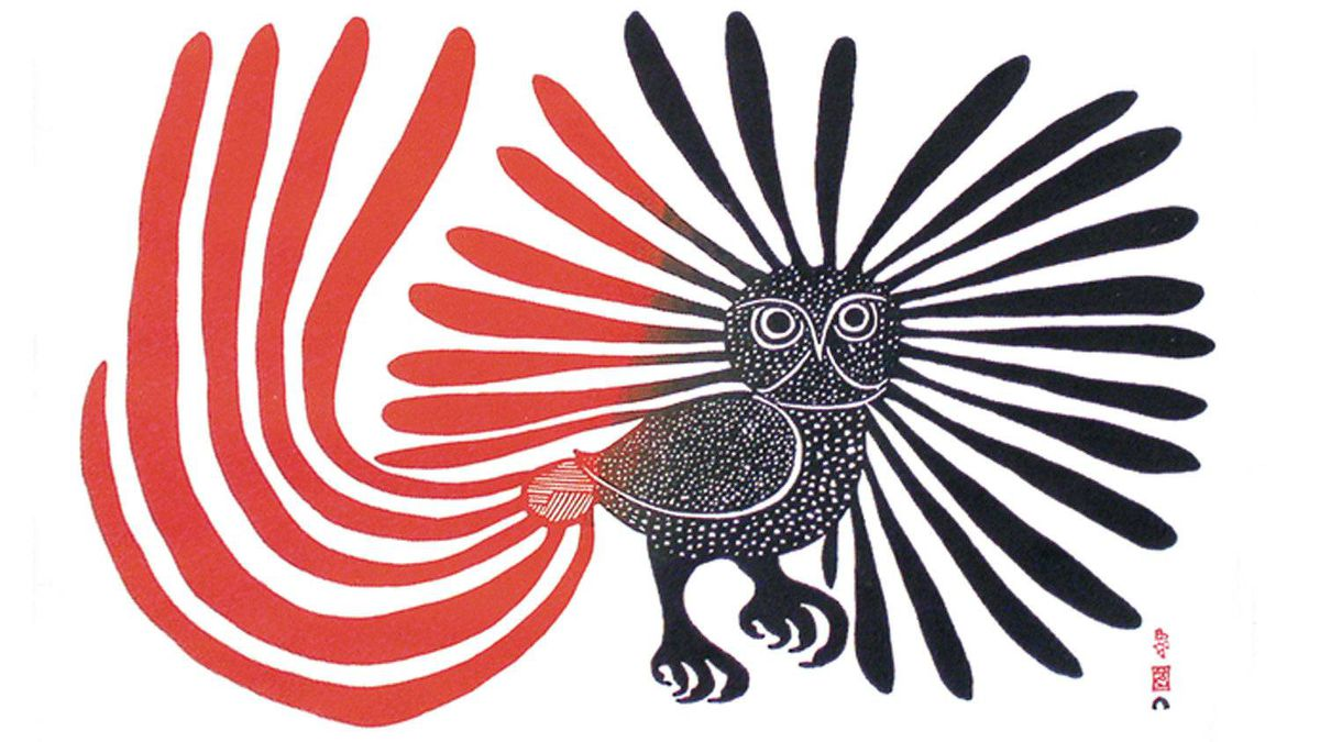 The Enchanted Owl, by Kenojuak Ashevak.