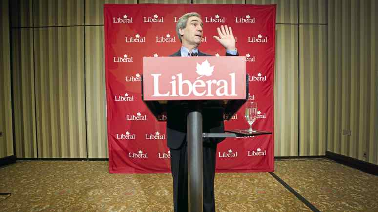 Michael Ignatieff announces his resignation as the leader of the Liberal Party at a press conference in Toronto, Ont. May 3/2011.