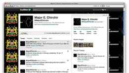 A tweet from Major Chirchir.