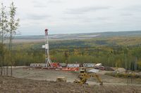 An Ensign Energy Services drilling site.