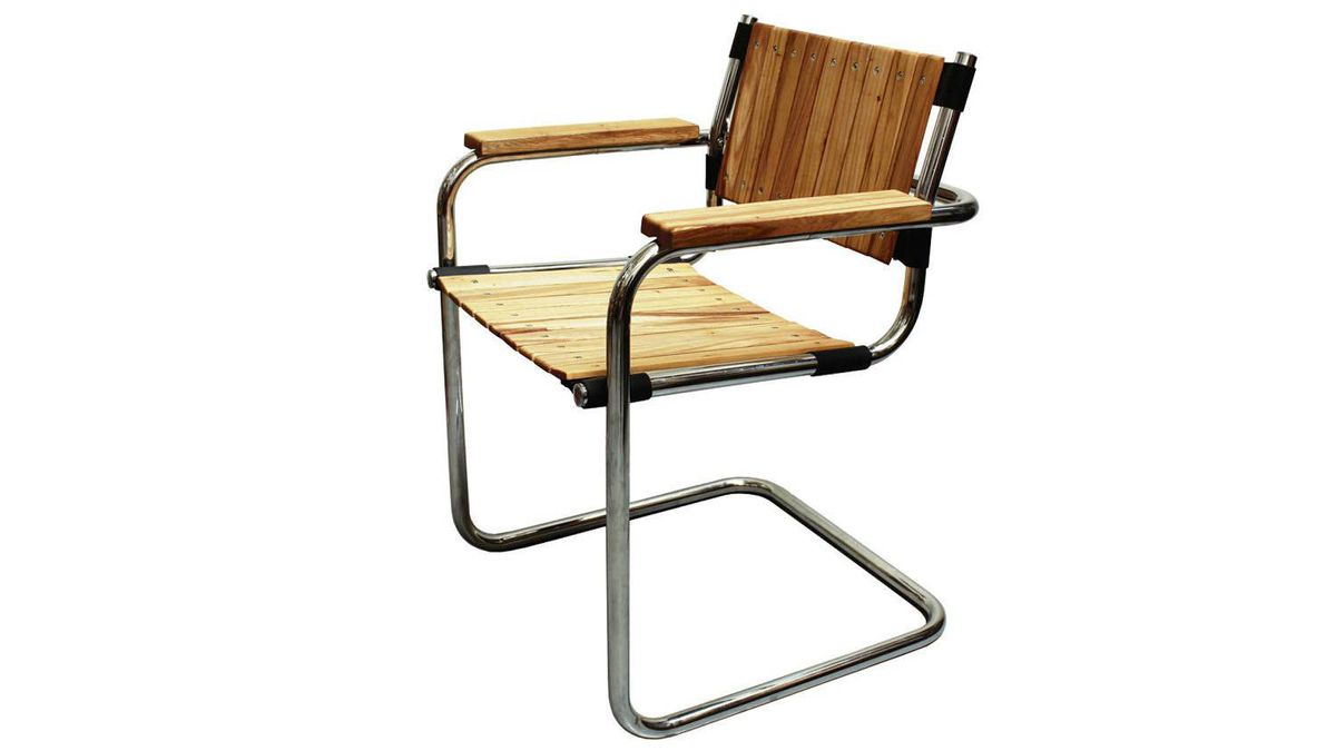 OLD-SCHOOL APPEAL Reclaimed Breuer Chair, $850 each or $4,600 for a set of 6 through www.brothersdressler.com.